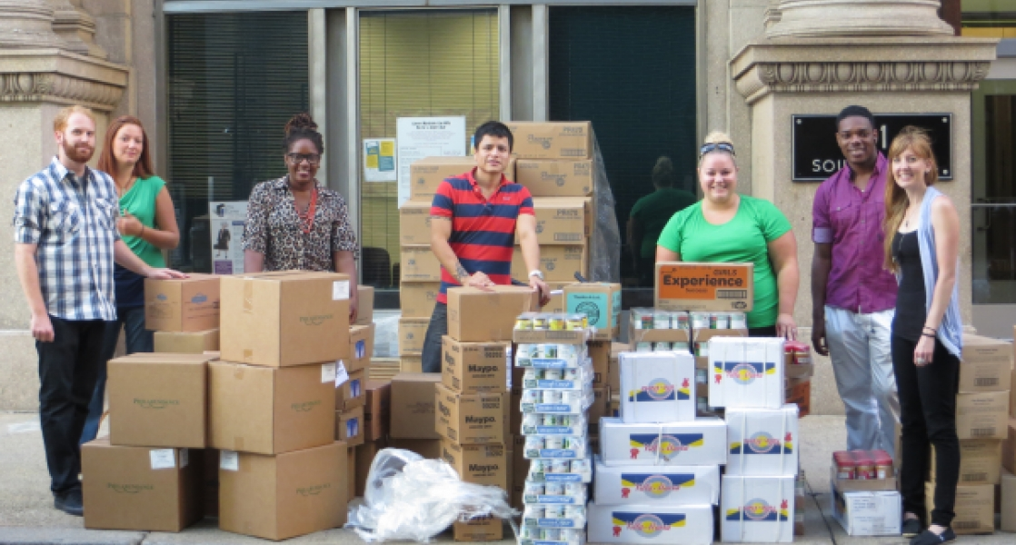 Mazzoni Center Food Bank Philadelphia HIV services