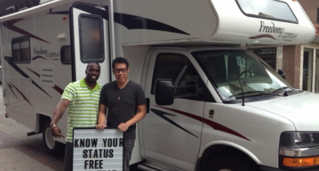 Mobile HIV Testing Unit Mazzoni Center Philadelphia