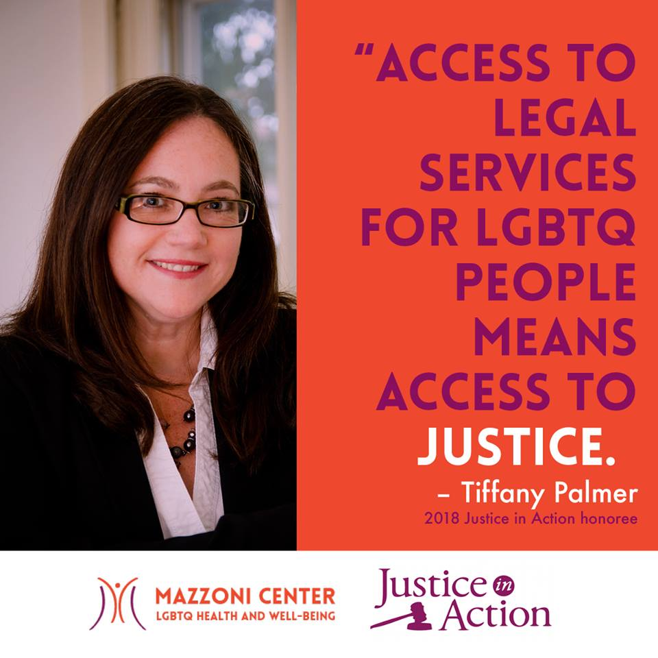 Justice in Action 2018 Awardee Tiffany Palmer, Esq.